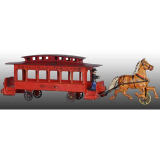 Drawn trolley toy horse Iron FOR OLD Trolley Carriages