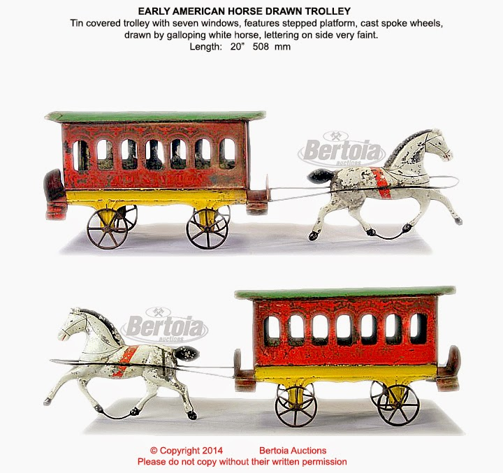 Drawn trolley toy horse Search of you search