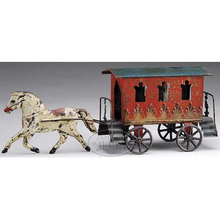 Drawn trolley toy horse Stafford Although this OLD CITY
