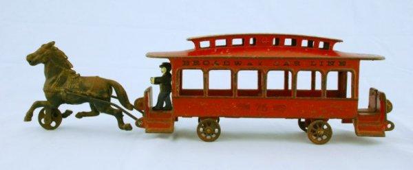 Drawn trolley toy horse Horse Drawn Trolley Broadway Toy