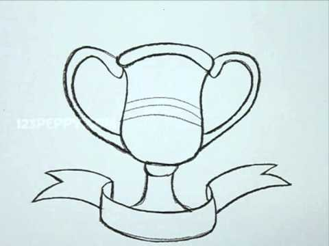 Drawn trophy How YouTube  to Draw