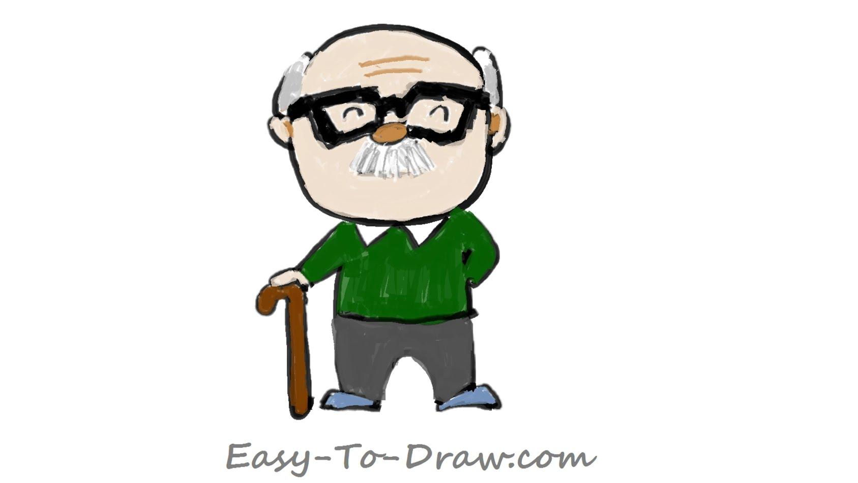Drawn trophy animated Step draw Kids (grandfather) How