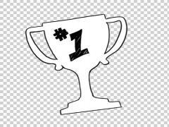 Drawn trophy animated Drawn  sketch Trophy footage