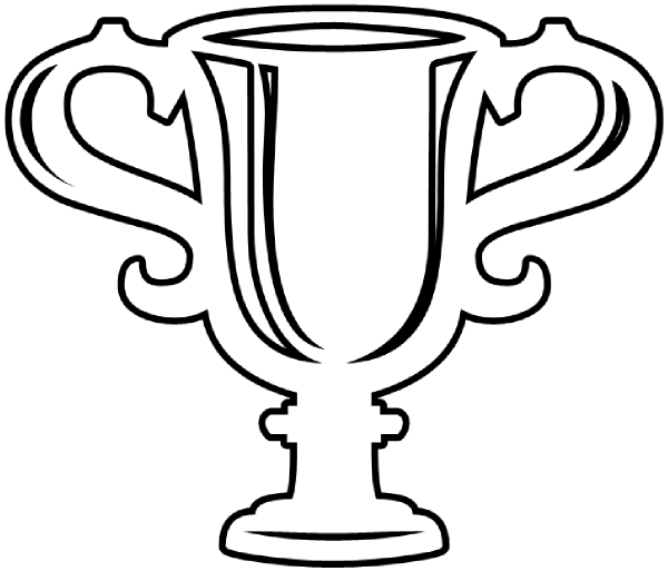 Drawn trophy Images Panda Trophy Clipart trophy%20clipart%20black%20and%20white