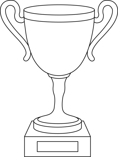 Drawn trophy Com animes clipart art Trophy
