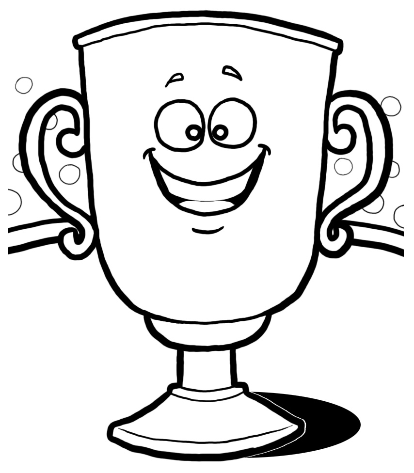 Drawn trophy Art 5 gold image biz