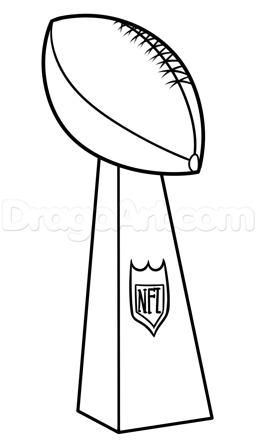 Drawn trophy Bowl step bowl trophy Lesson