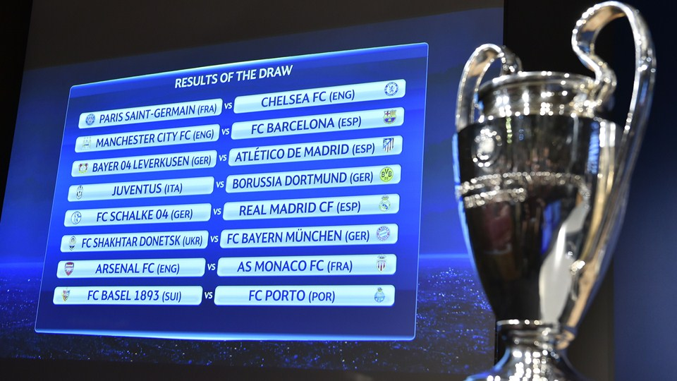 Drawn trophy fifa 15 Board draw for of League