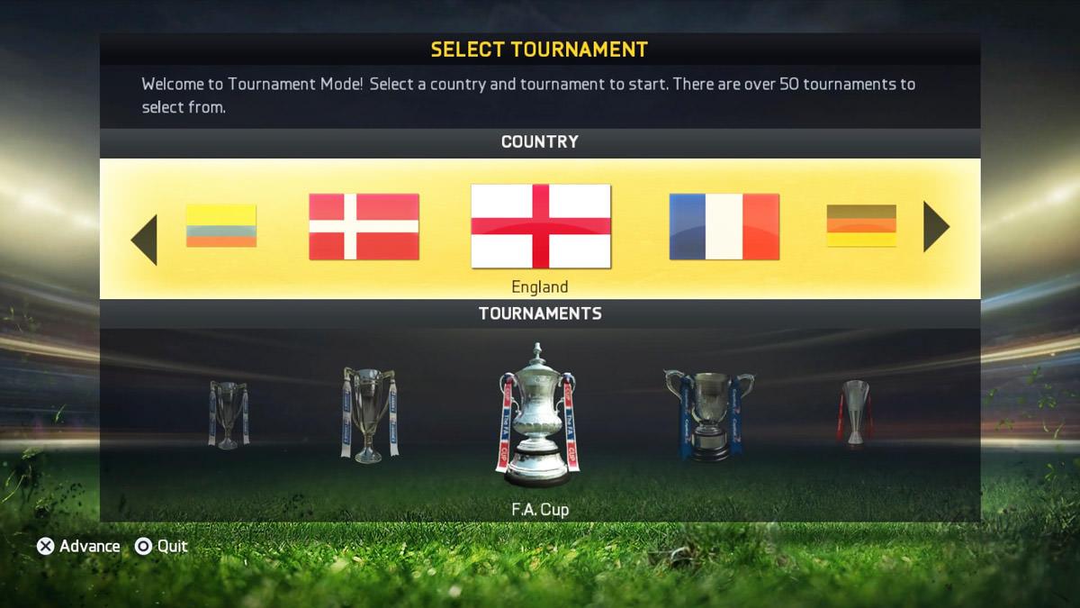 Drawn trophy fifa 15 15 Tournament FIFPlay – Mode