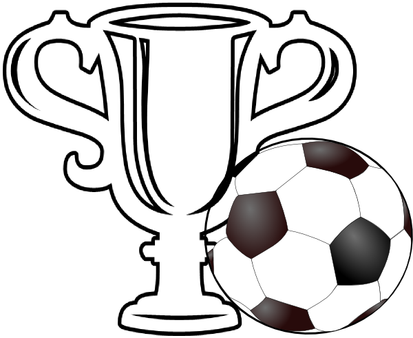 Trophy clipart football trophy Clip as: Soccer vector at