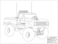 Drawn truck chevy Drawings and Mrs Drawings a