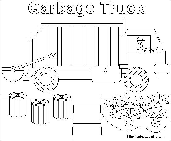 Drawn truck coloring page Coloring Pages To Truck Children