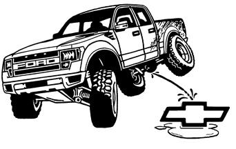 Drawn truck ford raptor Grapeapedesign Ford Automotive Cartoons Raptor