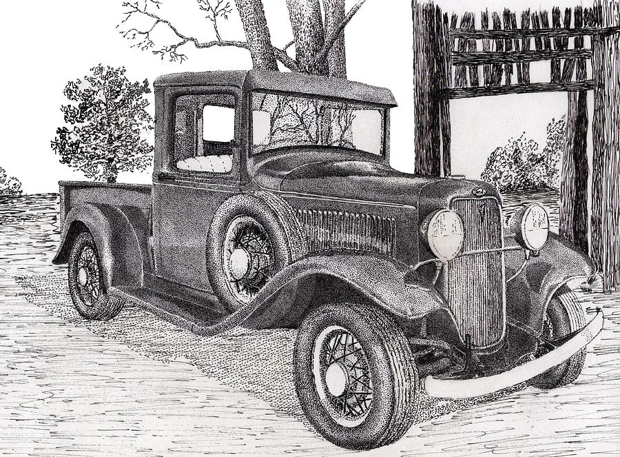 Drawn truck ford truck McAlister Drawing Jimmy Ford Truck