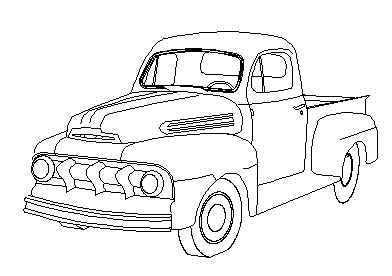 Drawn truck ford truck Forums drawing of Attached F1