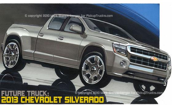 Drawn truck future Truck: Chevrolet 2013 1500 com