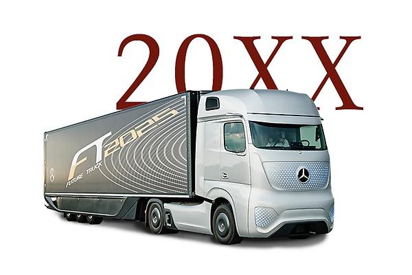 Drawn truck future Into True will of the