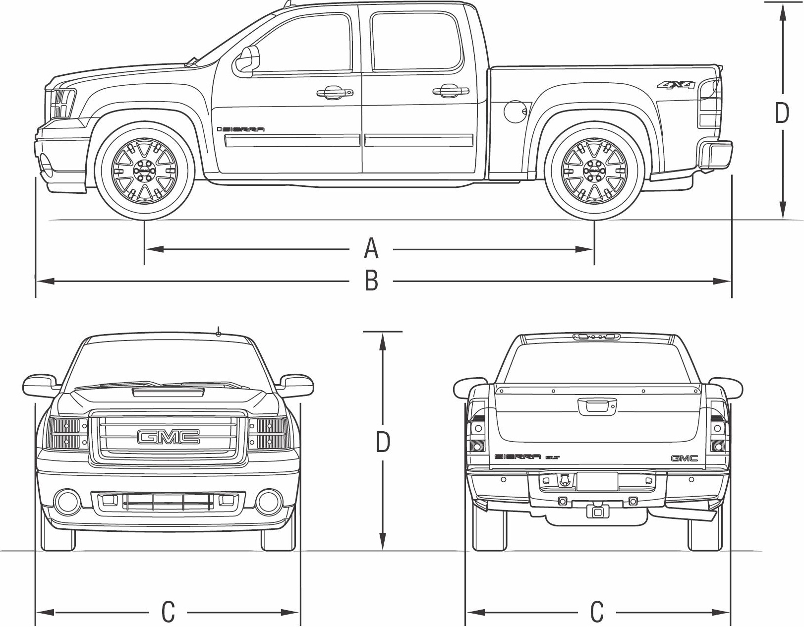 Drawn truck gmc sierra (2007) Sierra JPG Forum SMCars