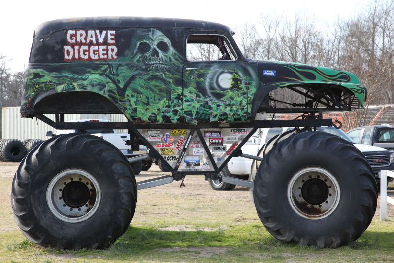 Drawn truck grave digger monster truck Everybody's The Of Behind Heard