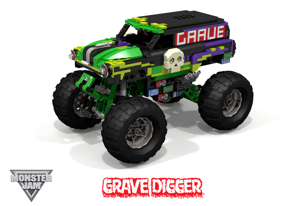 Drawn truck grave digger monster truck By 1950 Grave Grave Chevrolet
