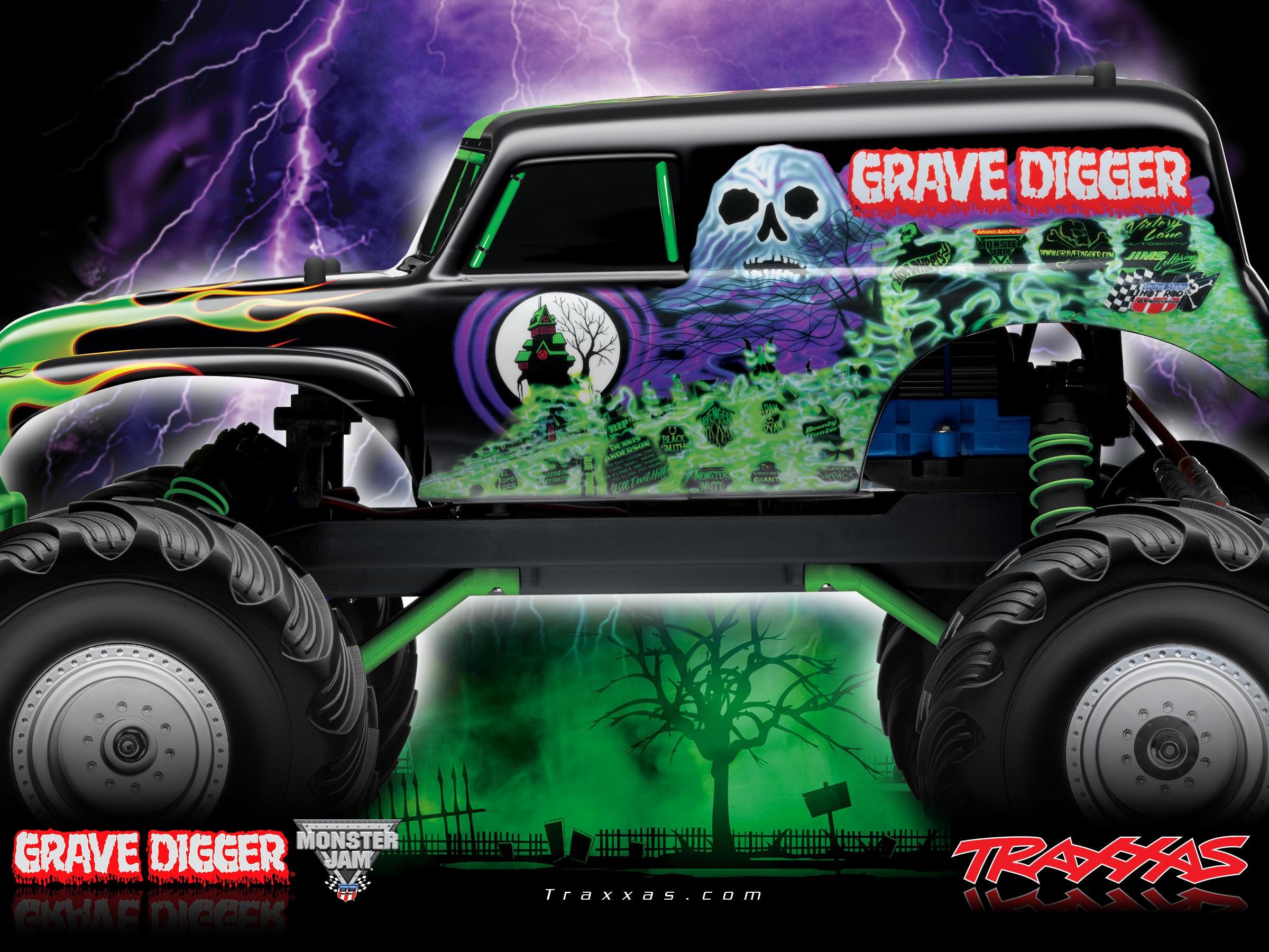 Drawn truck grave digger monster truck Drawing digger Truck truck Maxi
