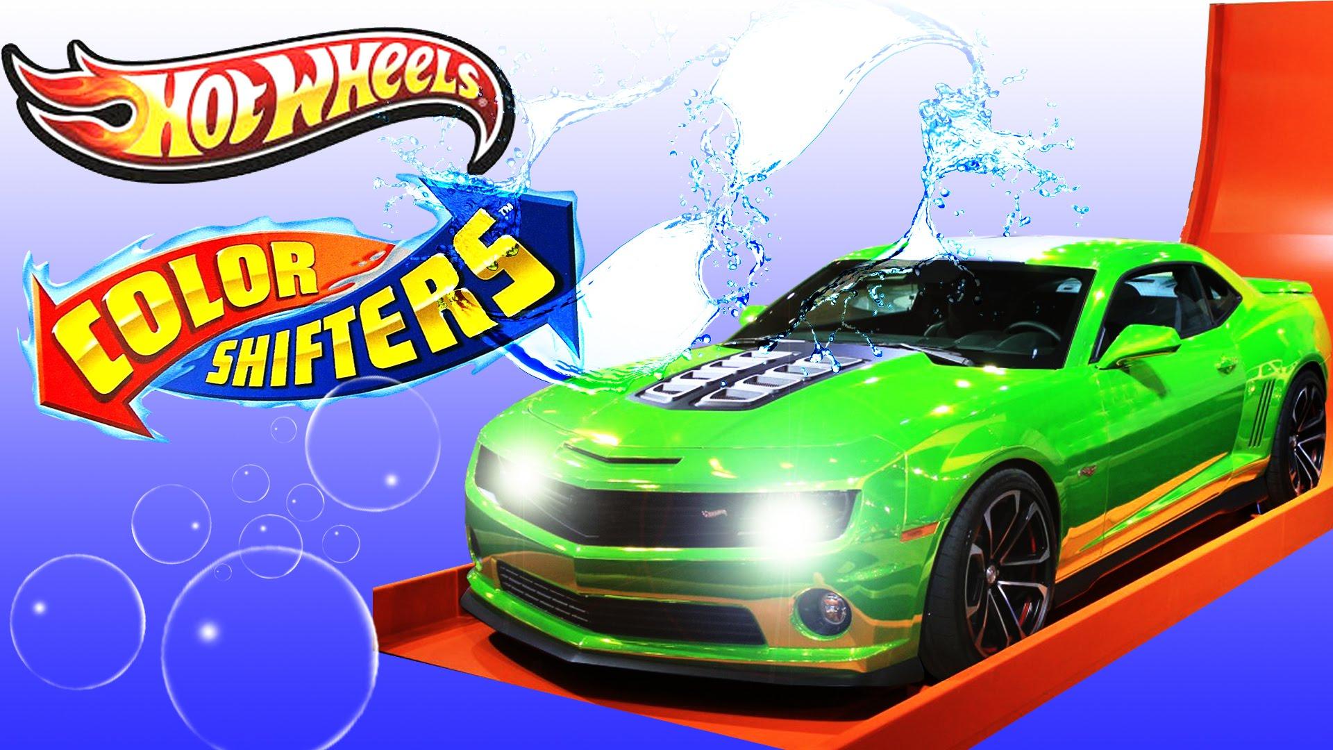 Drawn truck hot wheel car N new color Hot bubbles