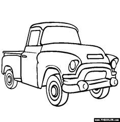 Drawn truck old truck Pin on this and Ford