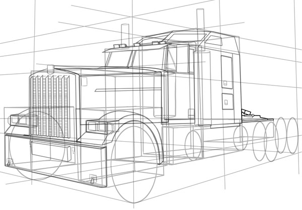 Drawn truck old truck The is of hitching HGVs