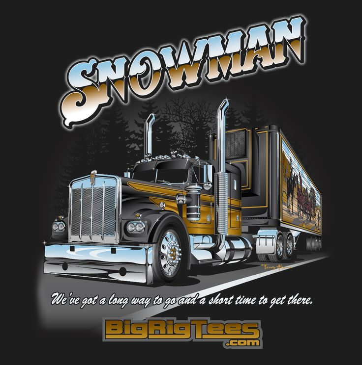 Drawn truck snowman 371 best on Back T