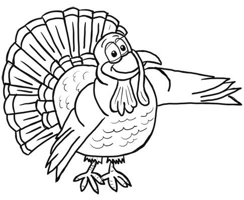 Drawn turkey #7