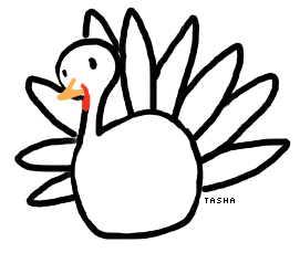 Drawn turkey #2