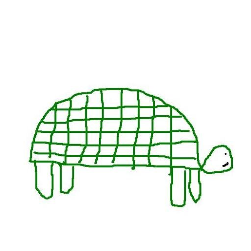 Drawn turtle Drawn Poorly Turtle Drawn (@NoTheOtherJohn)