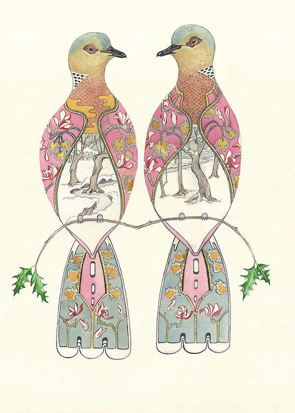 Turtle Dove clipart cartoon #12
