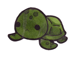 Drawn sea turtle chibi Turtle Sea Pinterest ~Xeohelios