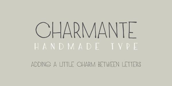 Drawn typeface Font Hand by Chrastina Juraj