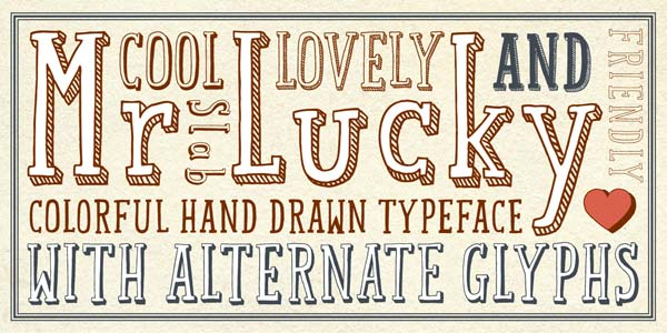 Drawn typeface Studio Vintage Studio Typeface Hipopotam