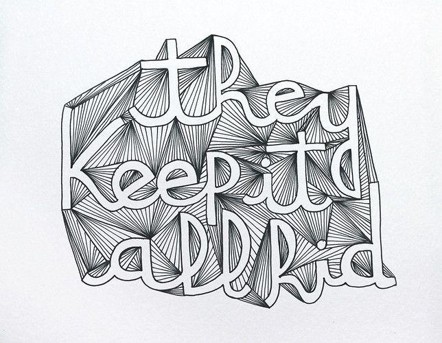 Drawn typeface artistic Best drawn #typography Pinterest
