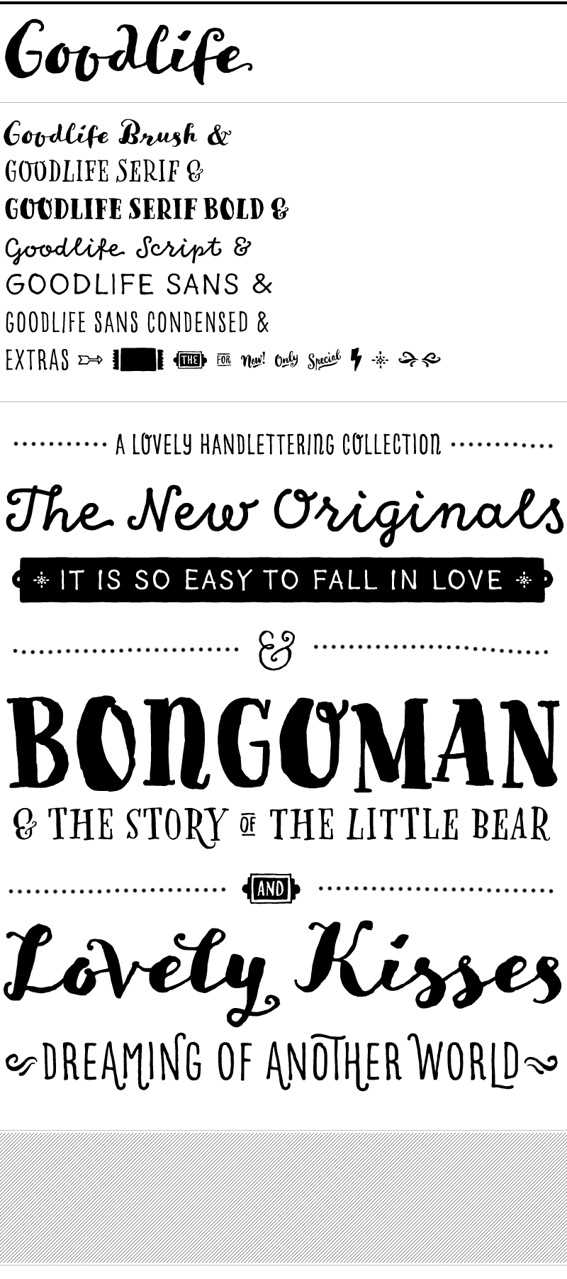 Drawn typeface different By handlettering Döhren lovely with
