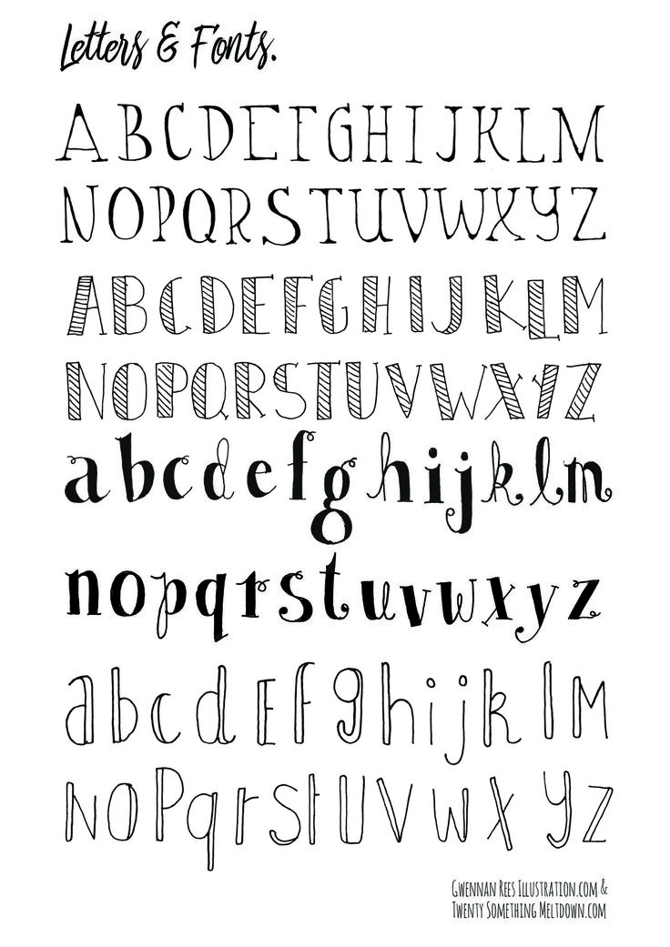Drawn typeface drawable CLICK fonts TO DOWNLOAD ideas