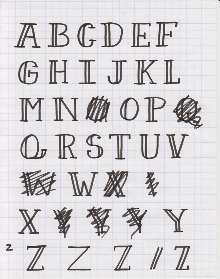 Drawn typeface easy How using to font Sketch