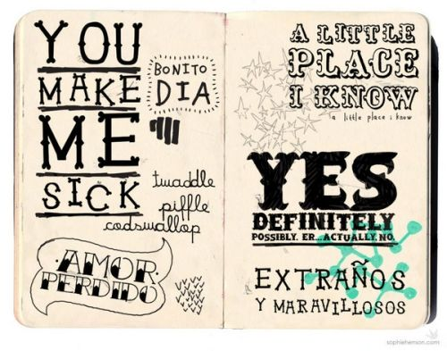 Drawn typeface hand drawn Examples Typography Drawn Smashing Of