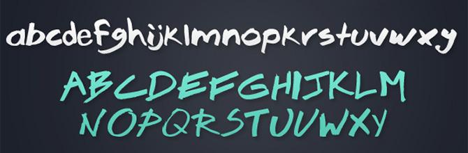 Drawn typeface hand drawn Blog Free brook23 Drawn 10