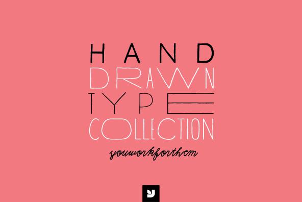 Drawn typeface hand drawn Drawn Font Drawn Type Hand