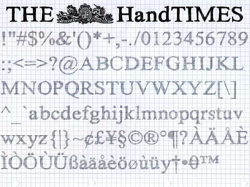Drawn typeface hand drawn 30+ Drawn times Essential hand