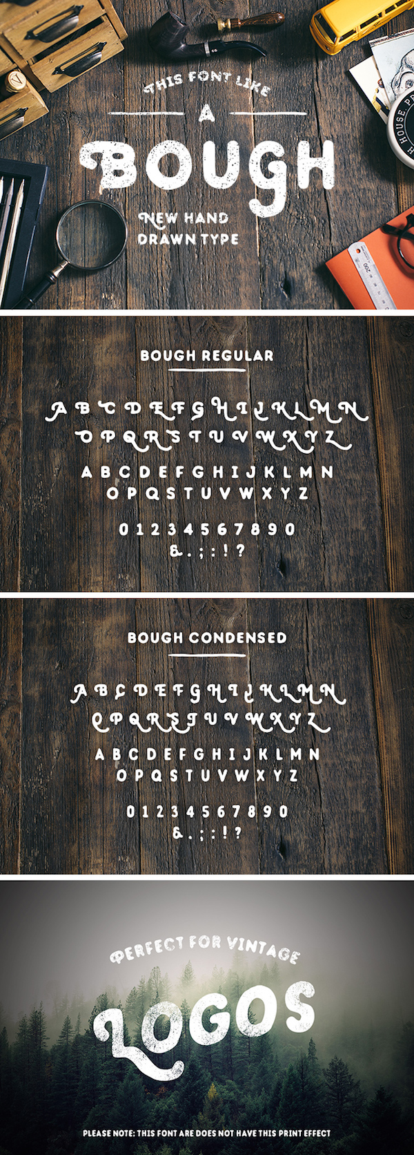 Drawn typeface handwriting Typeface Free 20 Bough: Fonts