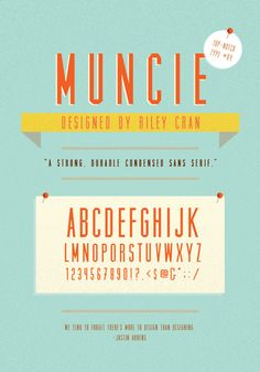 Drawn typeface hipsteria Hand  Artimasa Typeface muncie