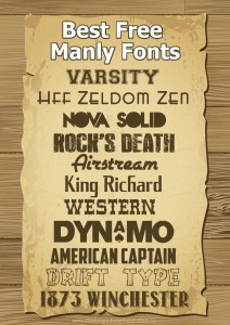 Drawn typeface manly Manly Fonts Free Best Sandbox