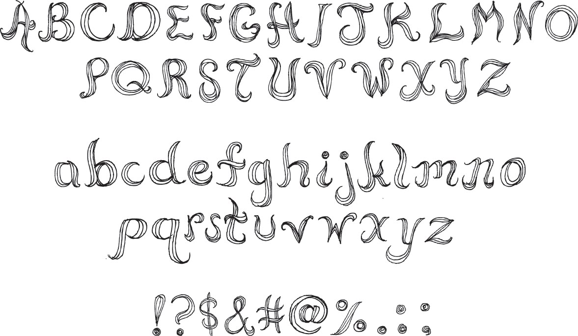 Drawn typeface manly Font imagemaking: Drawn Hand Font