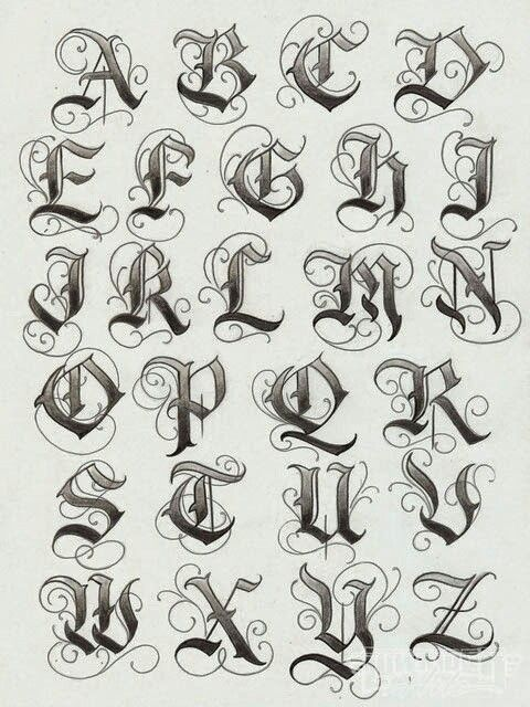 Drawn typeface old english Old on 25+ ideas Pinterest