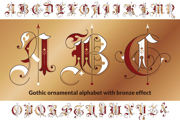 Drawn typeface old english For Old 10 Best English